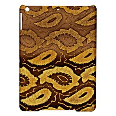 Golden Patterned Paper iPad Air Hardshell Cases