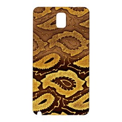 Golden Patterned Paper Samsung Galaxy Note 3 N9005 Hardshell Back Case