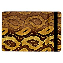Golden Patterned Paper Ipad Air Flip