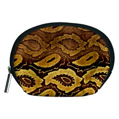 Golden Patterned Paper Accessory Pouches (medium)