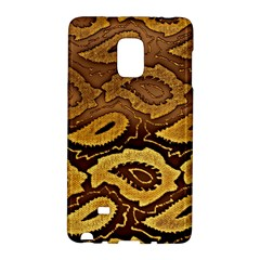 Golden Patterned Paper Galaxy Note Edge