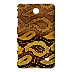 Golden Patterned Paper Samsung Galaxy Tab 4 (7 ) Hardshell Case