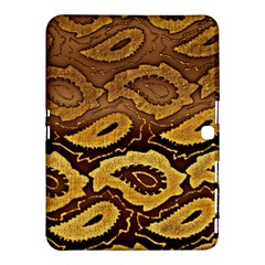 Golden Patterned Paper Samsung Galaxy Tab 4 (10.1 ) Hardshell Case