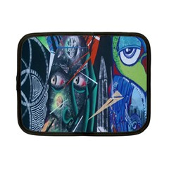 Graffiti Art Urban Design Paint Netbook Case (Small)