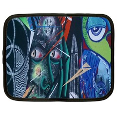 Graffiti Art Urban Design Paint Netbook Case (Large)