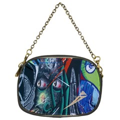 Graffiti Art Urban Design Paint Chain Purses (One Side)