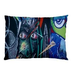 Graffiti Art Urban Design Paint Pillow Case