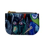 Graffiti Art Urban Design Paint Mini Coin Purses Front