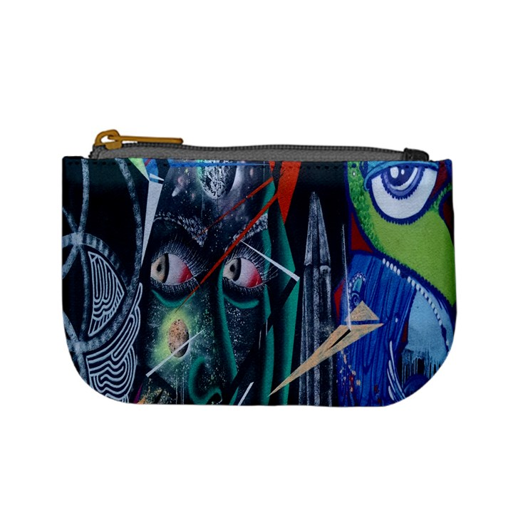 Graffiti Art Urban Design Paint Mini Coin Purses