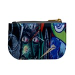 Graffiti Art Urban Design Paint Mini Coin Purses Back