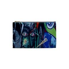 Graffiti Art Urban Design Paint Cosmetic Bag (Small)