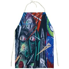 Graffiti Art Urban Design Paint Full Print Aprons