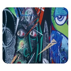 Graffiti Art Urban Design Paint Double Sided Flano Blanket (small)