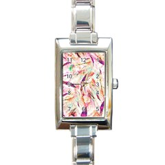 Grass Blades Rectangle Italian Charm Watch