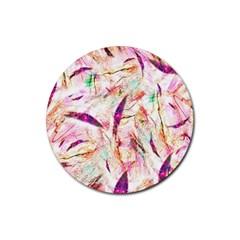 Grass Blades Rubber Coaster (Round)