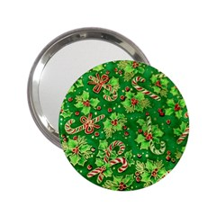 Green Holly 2.25  Handbag Mirrors