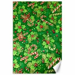 Green Holly Canvas 20  x 30