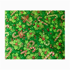 Green Holly Small Glasses Cloth (2 Side)