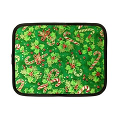 Green Holly Netbook Case (Small)