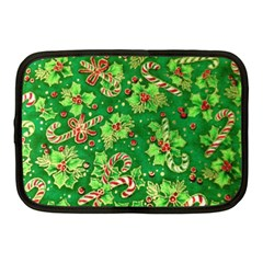 Green Holly Netbook Case (Medium)
