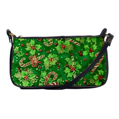 Green Holly Shoulder Clutch Bags