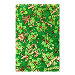Green Holly Shower Curtain 48  x 72  (Small)