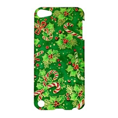 Green Holly Apple Ipod Touch 5 Hardshell Case