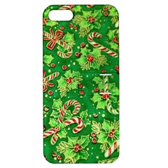 Green Holly Apple Iphone 5 Hardshell Case With Stand