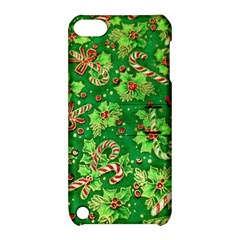 Green Holly Apple iPod Touch 5 Hardshell Case with Stand