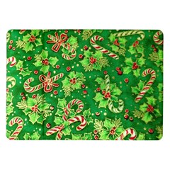 Green Holly Samsung Galaxy Tab 10.1  P7500 Flip Case