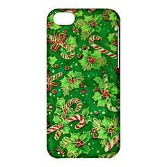 Green Holly Apple iPhone 5C Hardshell Case