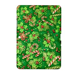 Green Holly Samsung Galaxy Tab 2 (10 1 ) P5100 Hardshell Case