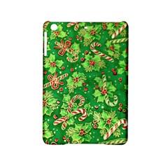 Green Holly Ipad Mini 2 Hardshell Cases