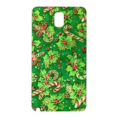 Green Holly Samsung Galaxy Note 3 N9005 Hardshell Back Case