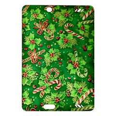 Green Holly Amazon Kindle Fire HD (2013) Hardshell Case