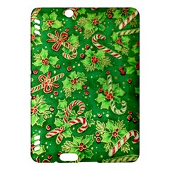 Green Holly Kindle Fire Hdx Hardshell Case