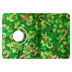 Green Holly Kindle Fire Hdx Flip 360 Case