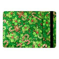 Green Holly Samsung Galaxy Tab Pro 10 1  Flip Case