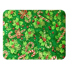 Green Holly Double Sided Flano Blanket (Large)