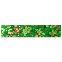 Green Holly Flano Scarf (small)