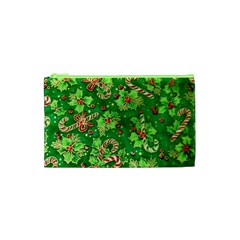 Green Holly Cosmetic Bag (xs)