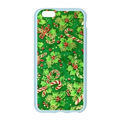Green Holly Apple Seamless iPhone 6/6S Case (Color)