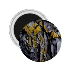 Grey Yellow Stone  2.25  Magnets