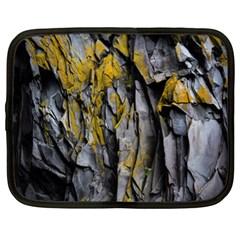 Grey Yellow Stone  Netbook Case (xl)