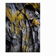 Grey Yellow Stone  Large Garden Flag (two Sides)
