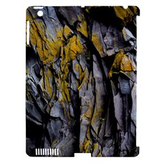 Grey Yellow Stone  Apple Ipad 3/4 Hardshell Case (compatible With Smart Cover)