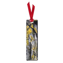 Grey Yellow Stone  Small Book Marks