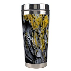Grey Yellow Stone  Stainless Steel Travel Tumblers