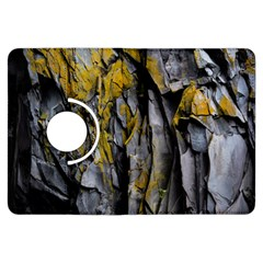 Grey Yellow Stone  Kindle Fire Hdx Flip 360 Case