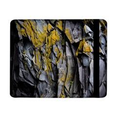 Grey Yellow Stone  Samsung Galaxy Tab Pro 8 4  Flip Case